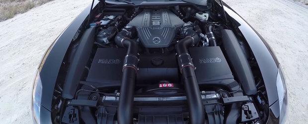 Un Mercedes-Benz SLS AMG primeste doua turbine in plus si devine un monstru de 900 cp