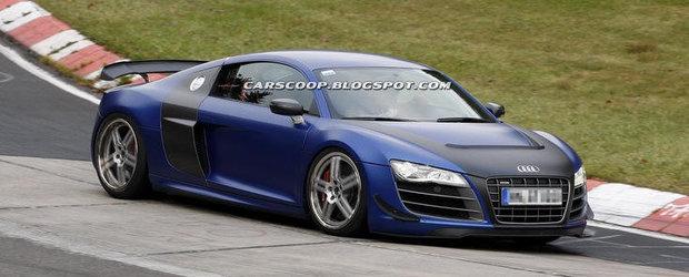 Un misterios Audi R8 debarca la Nurburgring. Despre ce sa fie oare vorba?