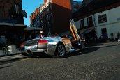 Un Murcielago LP640 Roadster cromat face senzatie in Londra