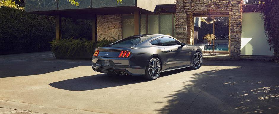 Un muscle-car redus la tacere. Noul Mustang a primit un sistem care diminueaza sunetul evacuarii