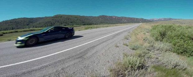 Un Nissan GT-R de 1700 CP atinge 381 km/h pe drumurile publice