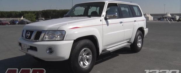 Un Nissan Patrol aparent obisnuit ascunde sub capota 800 de cp