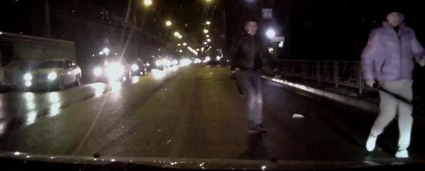"Un nou incident in traficul din Rusia rezolvat cu... ""diplomatie"""