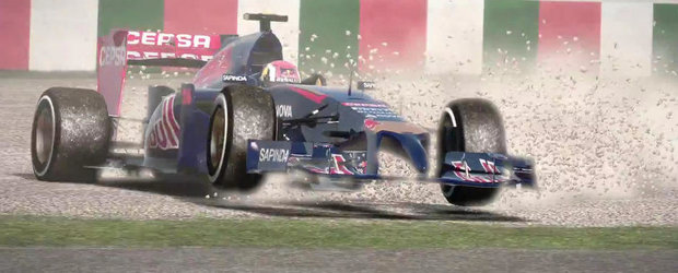 Un nou joc din seria Formula 1 vine pe 17 octombrie. Cum arata F1 2014