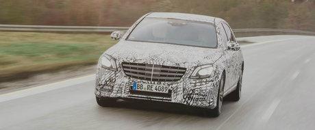Un nou Mercedes S-Class va fi prezentat oficial chiar in cursul lunii viitoare