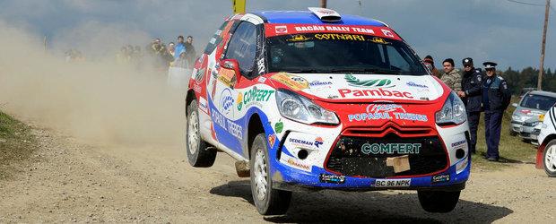 Un nou podium pentru Bacau Rally Team