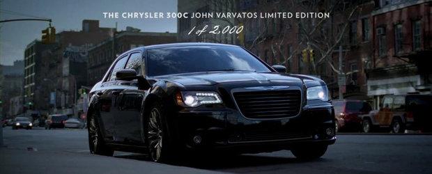 Un nou spot de promovare pentru editia speciala Chrysler 300C John Varvatos