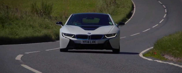 Un nou test cu hibridul BMW i8