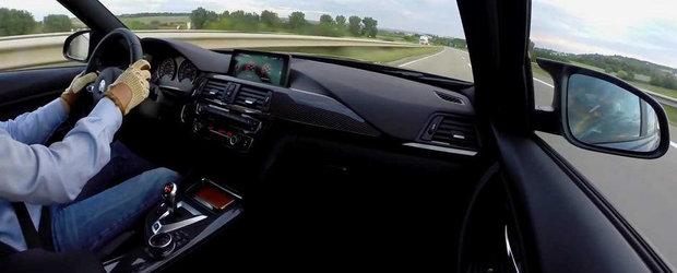 Un nou video ne convinge de performantele ultimului BMW M3