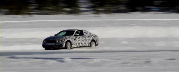 Un nou video spion cu BMW Seria 4 Coupe