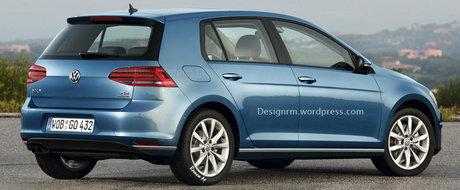 Un nou Volkswagen Golf se lanseaza in primavara acestui an