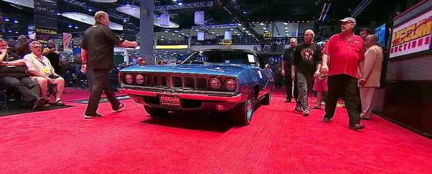 Un Plymouth Hemi 'Cuda s-a vandut recent cu 3.5 milioane dolari