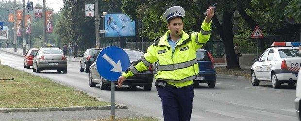 Un politist din Teleorman a fost prins in timp ce completa un proces verbal