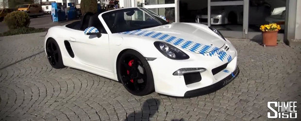 Un Porsche Boxster cu motor de 911. RUF 3800 S, pe scurt
