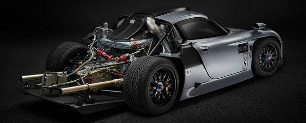 Un Porsche unic a fost vandut la licitatie cu o suma record