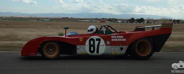 Un prototip Ferrari 312PB ne face sa iubim cursele pe circuit