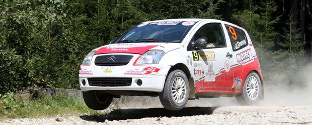 Un raliu plin de peripetii pentru echipajele Napoca Rally Academy