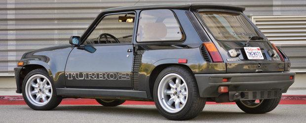 Un Renault 5 Turbo 2 isi asteapta viitorul proprietar pe un site de licitatii