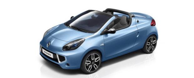 Un Renault Twingo decapotabil: Wind