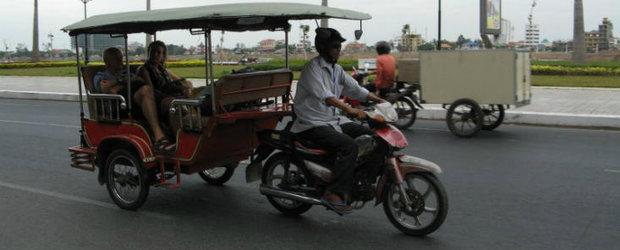 Un roman in jurul lumii cu motocicleta: din Vietnam in Romania, ep. 2 - Cambodgia