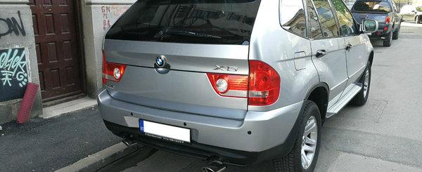 Un Shuanghuan CEO din Bucuresti se crede BMW X5