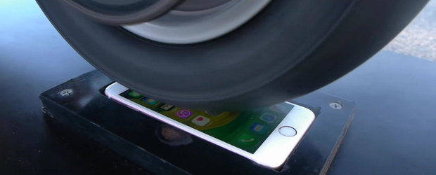 Un simplu burnout pe ecranul unui iPhone 6S nu este suficient ca sa-l strice!