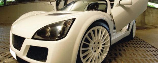 Un Speedster foarte.. alb