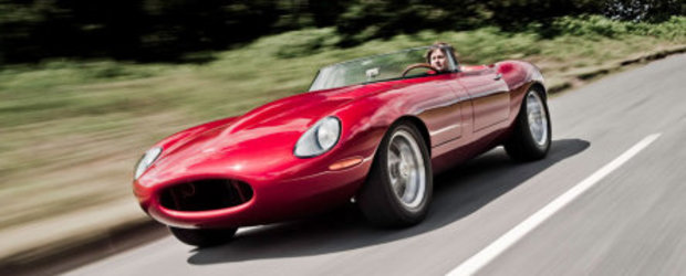 Un superb E-Type Speedster de la Eagle