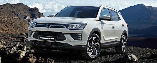 Un SUV pentru omul de rand. Noul SsangYong Korando vine la Geneva cu motoare noi si ceasuri de bord digitale