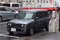 Un Suzuki Lapin din Japonia se crede BMW Ursulet