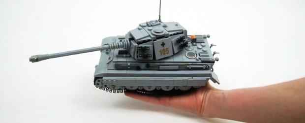 Un tanc cu telecomanda din WW2 construit din LEGO pare jucaria ideala!