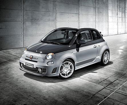 Un targa pentru Abarth: Fiat 500C