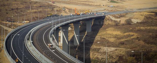 Un tronson din autostrada Sibiu - Orastie, dat in folosinta anul trecut, intra in reconstructie