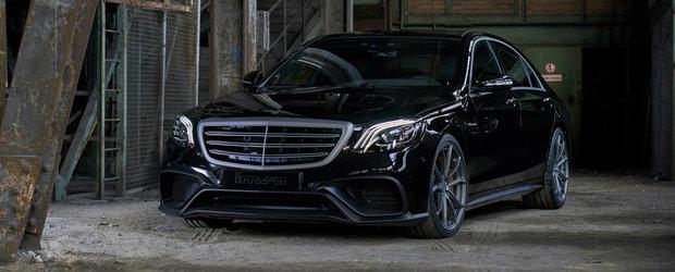 Un tuning discret, dar de efect. Limuzina suprema de la Mercedes intoarce capetele cu 720 de cai sub capota