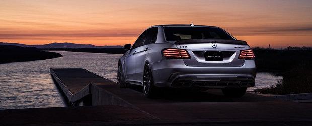 Un tuning simplu, dar de efect: Mercedes-ul E63 cu jante HRE P108