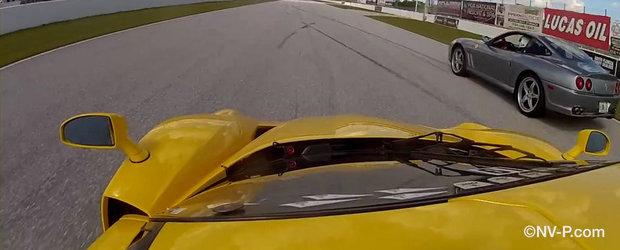 Un tur de pista la bordul extremului Ferrari FXX Evo