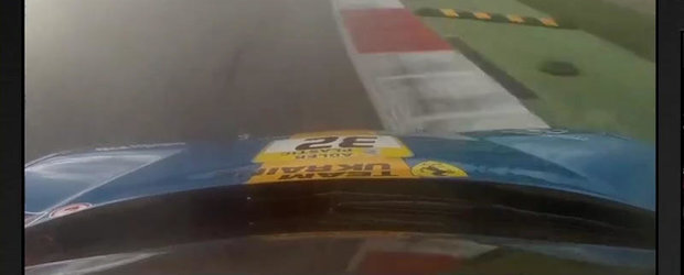 Un tur de pista la bordul modelului Ferrari 458 Challenge
