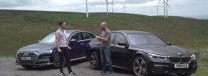 Un VIDEO pe care-l asteptai de mult. Care se conduce mai bine dintre BMW Seria 7 si Audi A8?