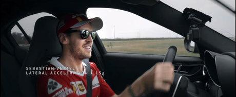 Un video pentru fanii Alfa Romeo: pilotii Scuderiei Ferrari imping la limita Giulia de 510 cai