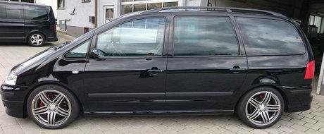 Un Volkswagen Sharan cu 434 de cai si tractiune integrala? Da, va rog!