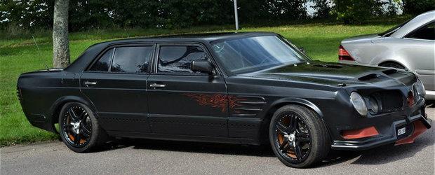 Una dintre cele mai luxoase masini ale anilor '80 este acum de nerecunoscut. Creatia este de vanzare