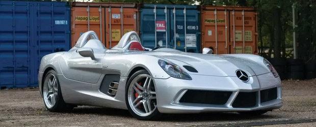 Una dintre cele mai rare masini construite de Mercedes este de vanzare. Cat costa