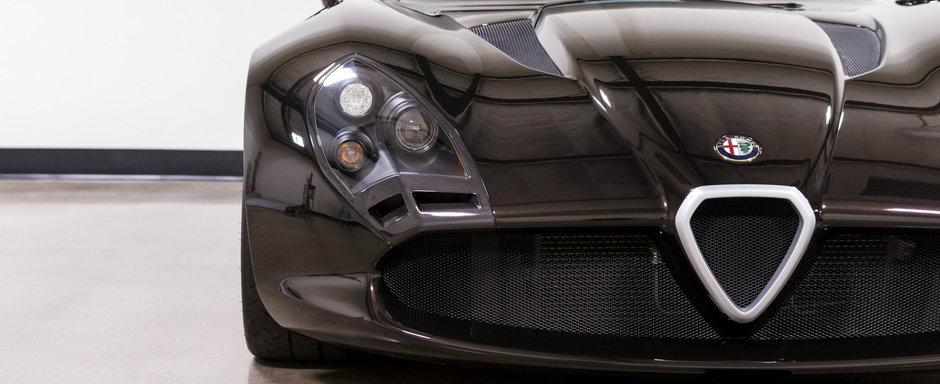 Una dintre cele mai rare masini de pe planeta a fost scoasa la vanzare. Design-ul este semnat de Zagato