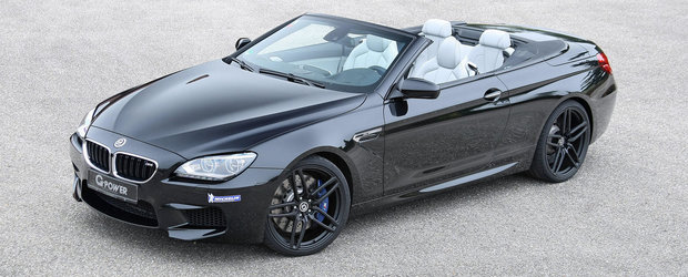 Unde esti vara? IATA cel mai performant BMW M6 Cabrio al planetei