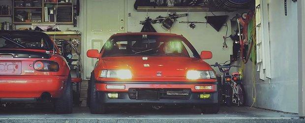 Unde poate duce pasiunea cuiva pentru o Honda CRX?