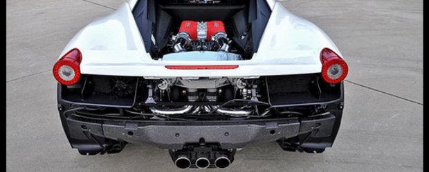 Underground Racing indeasa doua turbine sub capota noului Ferrari 458 Italia!