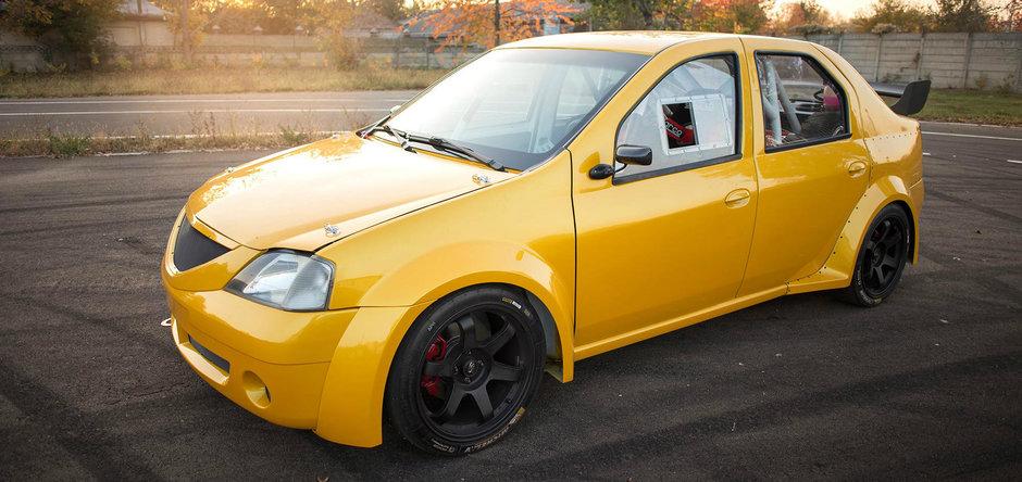 Undeva, in Romania, se pregateste o Dacia Logan mai rapida ca un OZN