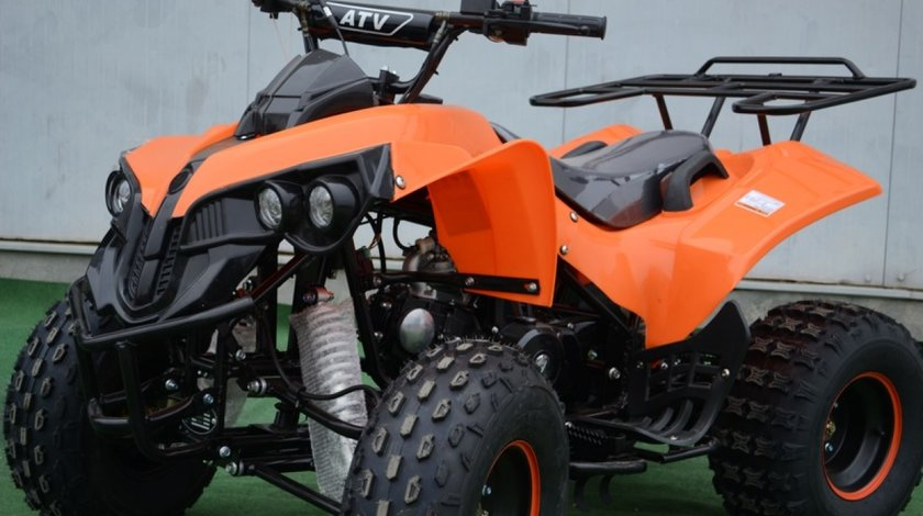 UNIC DEALER!! Atv/Quad Model Warrior Motorizare 125cc Nou+Garantie
