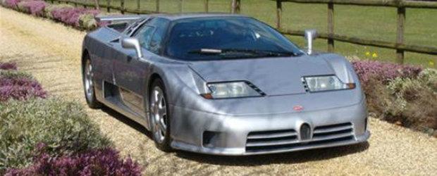 Unicul Bugatti EB110 SS modificat de Brabus isi face aparitia la vanzare