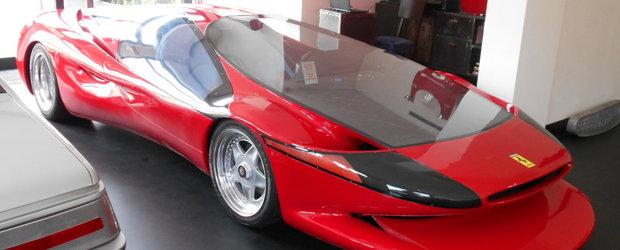 Unicul Ferrari Testa d'Oro Colani, masina de record mondial, este de vanzare